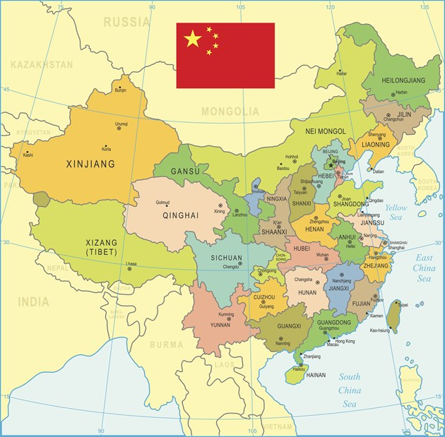 China Map Istock 647168138